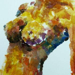 (1) Experimental figure detail